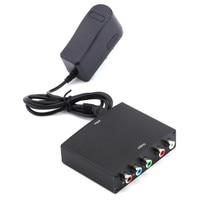 1080 p hdmi do kabla komponentowego ypbpr conversor rgb wideo + r/l wzmacniacz audio adapter converter dla hd s3 tv pc