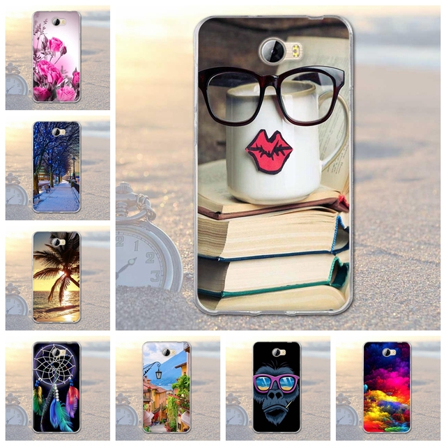 for Huawei Y5 II Y5 2 Cover For Huawei Honor 5A LYO-L21 Phone Case Soft Silicon Coque For Huawei honor 5A Y5 2 Y5 II CUN-U29