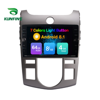Octa Core 4GB RAM 64GB ROM Android 8.1 Car Navigation Player Deckless Car Stereo For KIA Forte 2008 2017 Radio Headunit Device