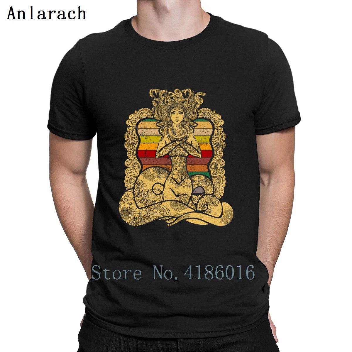 Medusa Art Mythology Greek Anient T Shirt Cheap Basic Normal Creature Black Shirt Round Collar Top Quality Spring 2019 Weird