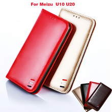 For Meizu U10 Case Soft TPU Silicone Wallet PU leather Phone Cases for flip Cover U 10 5.0 + Card Holder