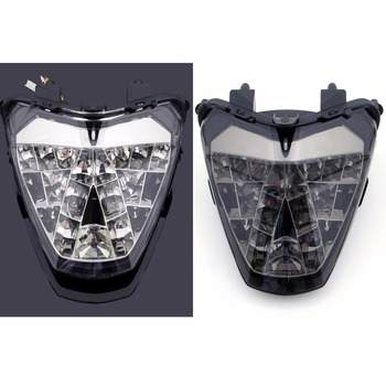 Areyourshop for Honda Motorcycle Integrated LED TailLight Turn Signals for Honda CBR250R 2010-2012 MC41 Motorbike Styling Parts Honda CBR250R