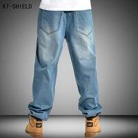 Erkekler giyim baggy biker jeans büyük boy casual hip hop masculina pantalones moda kaykay vaqueros hombre mens harem pantolon