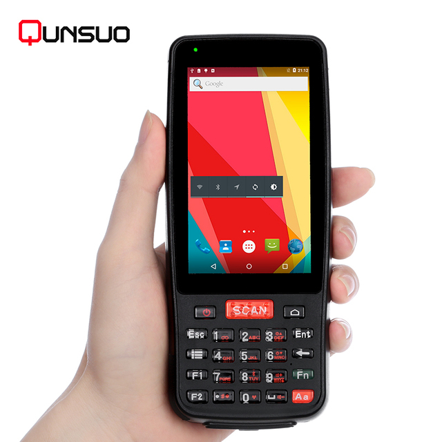 Rugged Pda Android Portable Data Terminal With 1d Laser Barcode Reader