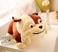 new creative Rio movie plush bulldog toy fat bulldog toy gift doll about 38cm