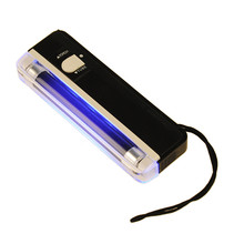 2 in 1 Handheld Portable UV Black Light Torch Portable Fake Money Cash Detector Fake Counterfeit Currency Detector Money Tester