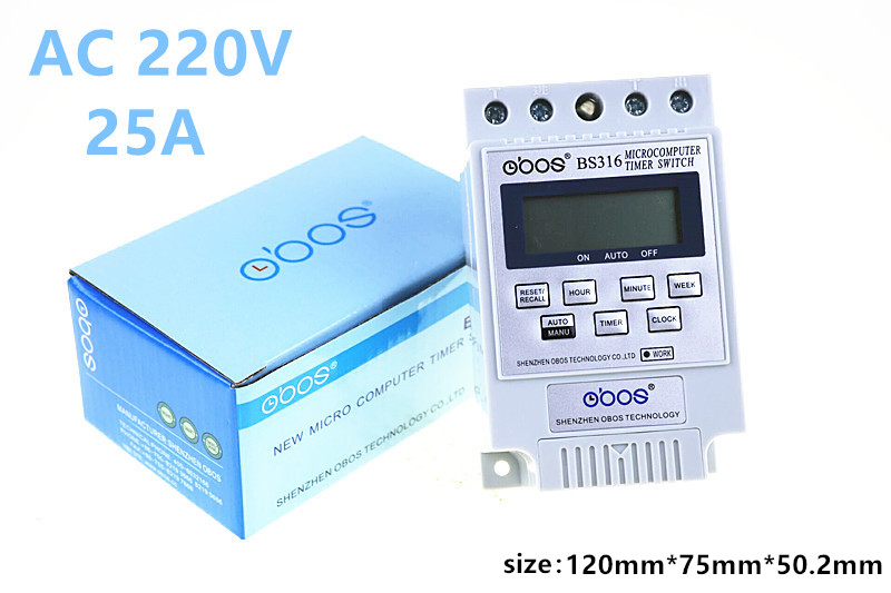цена на 1 PCS English version Microcomputer control switch KG316T street lamp time switch time controller electronic timer 220 v OBOS