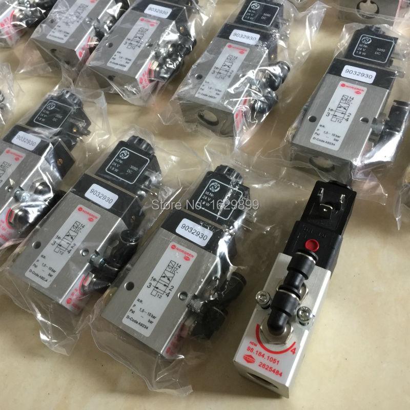 5 pieces 98.184.1051/01 Valve HLRION 2625484 for Heidelberg SM/CD 102 Offset Printing Press New