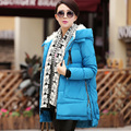 2017 winter women's thickening medium-long women's tooling plus size down coat women downjacket winter
