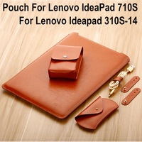 Microfiber Leather Laptop Bag For Lenovo IdeaPad 710S Laptop Case Notebook Bag Computer Bag For Lenovo