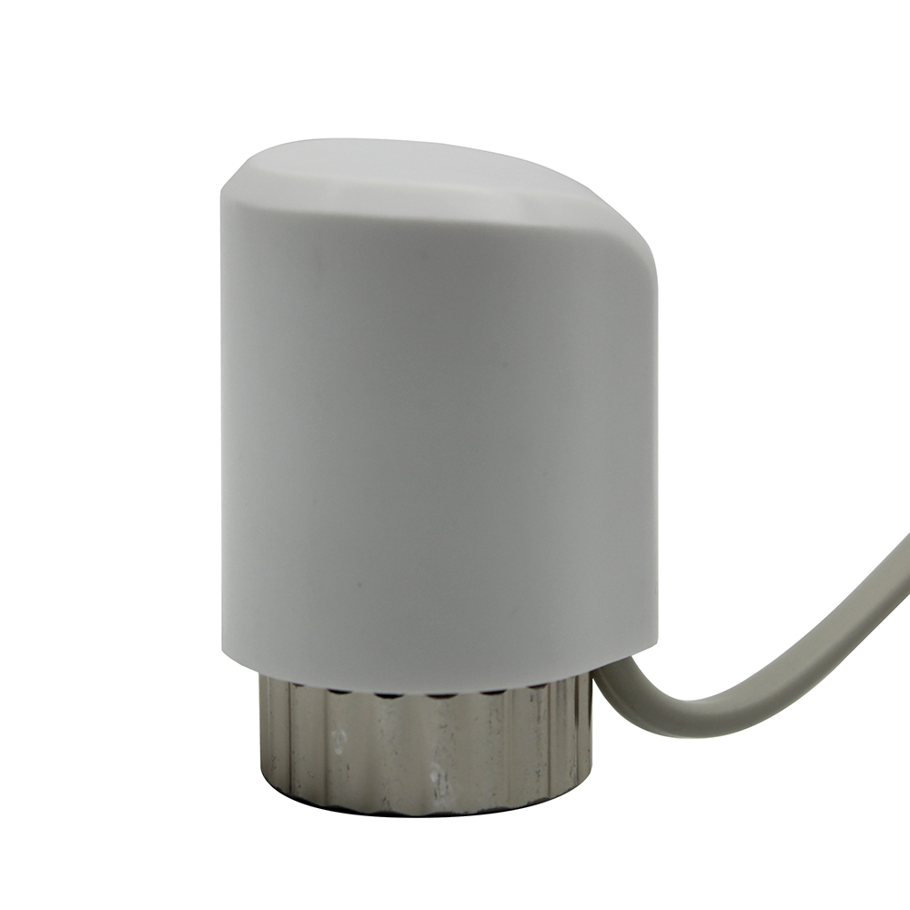 AC 220v 24v Normally Open Closed Electric Thermal Actuator For Manifold Underfloor Heating Radiator Thermal Head Valve NO NC