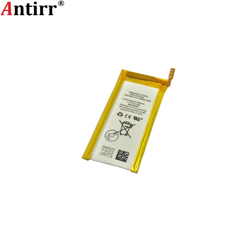 Antirr betteryFor Nano 5 Battery for iPod Nano 5 5th Gen Battery Brand New 3.7V Li-ion Battery Replacement with free tools(China)