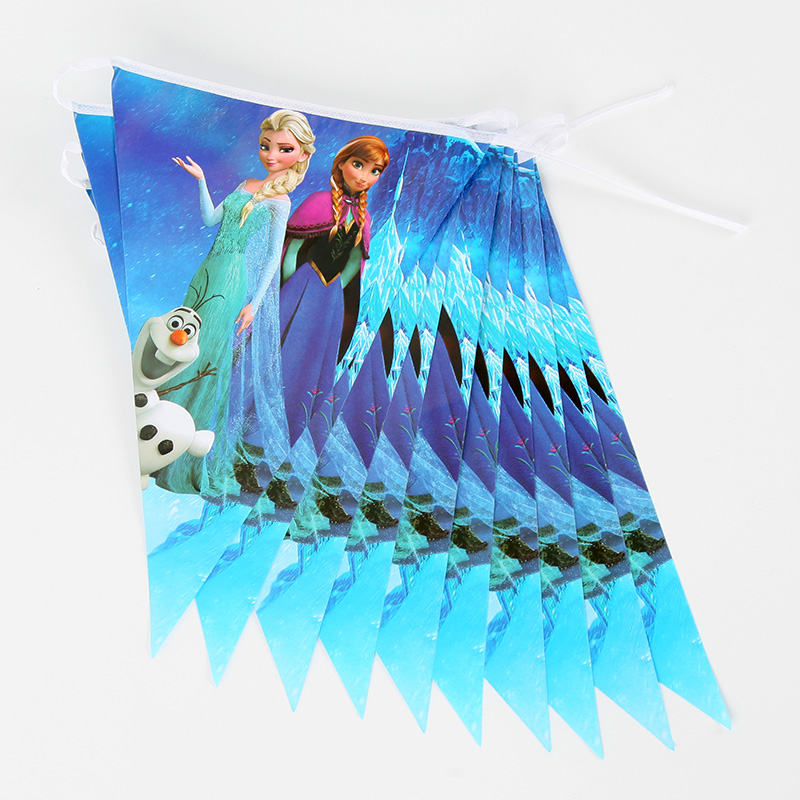 Disney Frozen Anna Movie Baby Birthday Party Decoration Kids Girl Party Supplies Party Tableware Set in Disposable Party Tableware from Home Garden