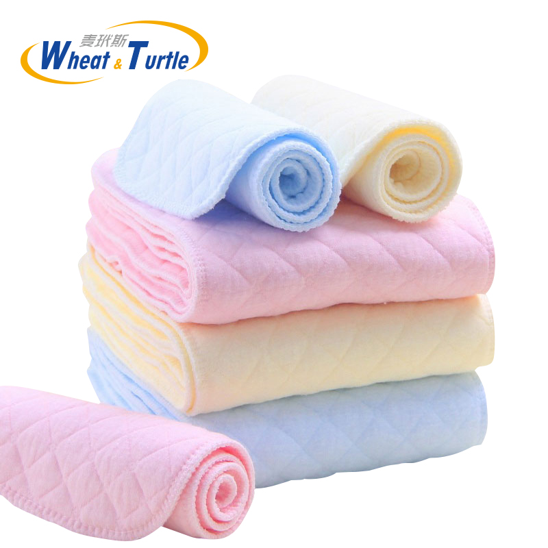 Mother Kids Diapering Toilet Training Diapering Nappy Liners 5Pcs/Lot Baby Care Baby Nappies Reusable Baby Cloth Diaper Liner