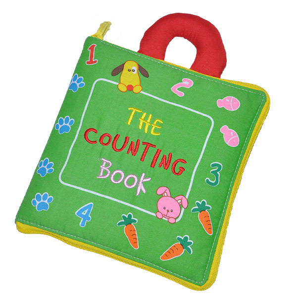 Soft Books Infant Early cognitive Development My Quiet Books baby goodnight educational Unfolding Cloth Books Activity
