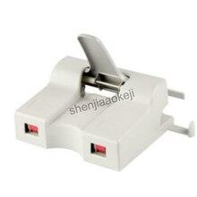 A4/16 K formato padrão grampeador grampeador grampeador de escritório-específico da dobro-cabeça F400 pode bind 50 folhas grampeador 150 cópias/hora