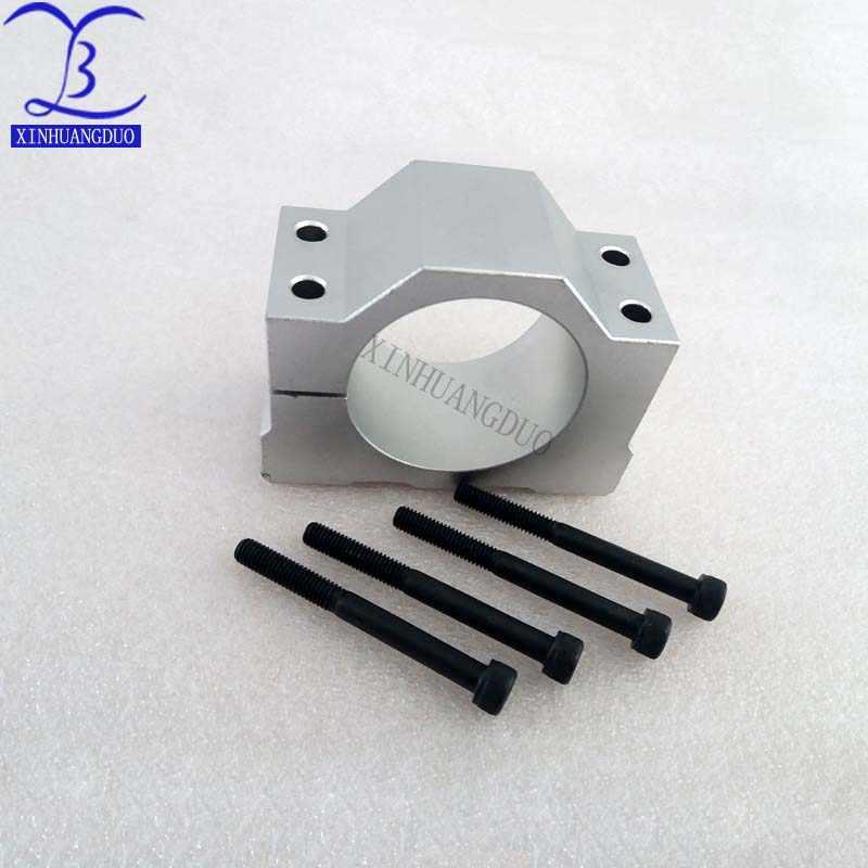 52 мм крепежный кронштейн шпиндель приспособление для ER11 300W 400W 500W DC мотор шпинделя литой алюминиевый кронштейн