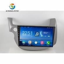 Chogath 10 дюймов 4 ядра android 6.1 стерео Радио для Honda Fit 2008 2009 2010 2011 2012 2013 Автомобильные ПК аудио С GPS Navi