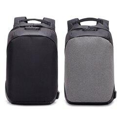 2018 Tigernu Fashion MenAnti Theft Backpack Laptop Backpack Bagpack Backpacks Female School Backpacks for Teenage USB Chargin