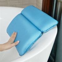 Bathroom Bathtub Spa Soft Pillows Bathtub Headrest With Suction Cup Waterproof Bath Pillows Bathroom Products