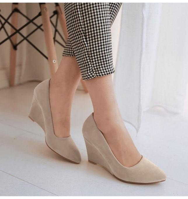 font b women s b font font b shoes b font pointed toe high heeled