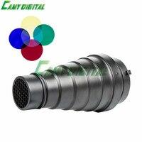 Godox sn-01 mit farbe filter spotvorsatz studio flash zubehör wabengitter licht für bowens berg studio strobe flash