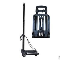 Auto accessories,High end fashion travel folding luggage carts ,car trolleys, wheelbarrow, Thickening folding mute