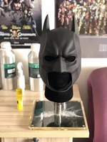 The Dark Knight Mask High Quality Rubber Batman Cowl With Stand Included The Dark Knight Cosplay
