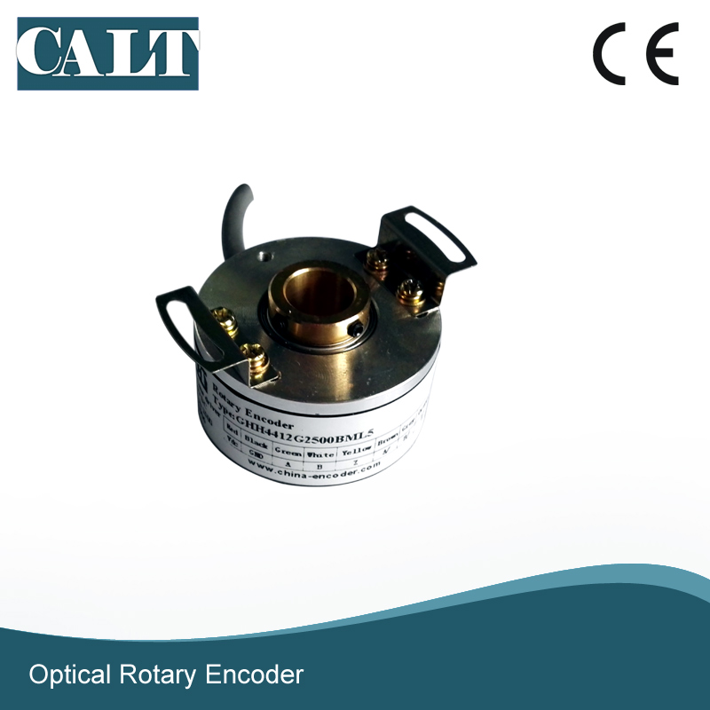 CALT GHH44 series rotary encoder 8mm bore push pull replace for CUI INC MEH30 hollow shaft encoderCALT GHH44 series rotary encoder 8mm bore push pull replace for CUI INC MEH30 hollow shaft encoder
