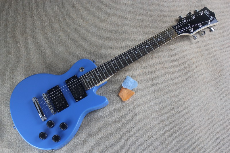 Top quality popular styles Musical instruments Wholesale blue Electric Guitar kids guitar цена