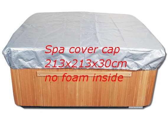 hot tub cover cap prevent snow, rain and dust,213cm x 213cm x 30 cm ,can customize spa, swim spa cover bag 2200mmx1900mm hot tub spa cover leather skin can do any other size