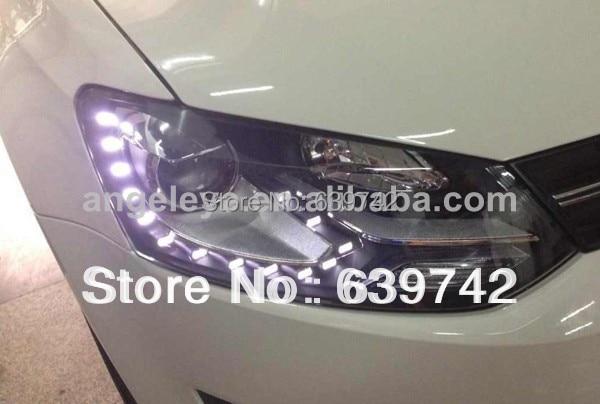 Za VW Cross Polo LED svjetla s biksenonskim lećama projektora - Svjetla automobila - Foto 2