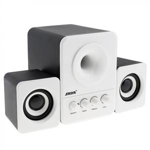 Image 2 - SADA D 203 Wired Mini Bass Kanone 3 W PC Kombination Lautsprecher Mobile PC Lautsprecher mit 3,5mm Stereo Jack und USB 2,1 Verdrahtete Angetrieben