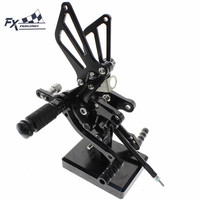 CNC Aluminum Motorcycle Rearset Rear Set Foot Pegs Pedal Footrest For Suzuki SV650 SV650S SV1000 SV1000S SV 650 1000 1998 2014