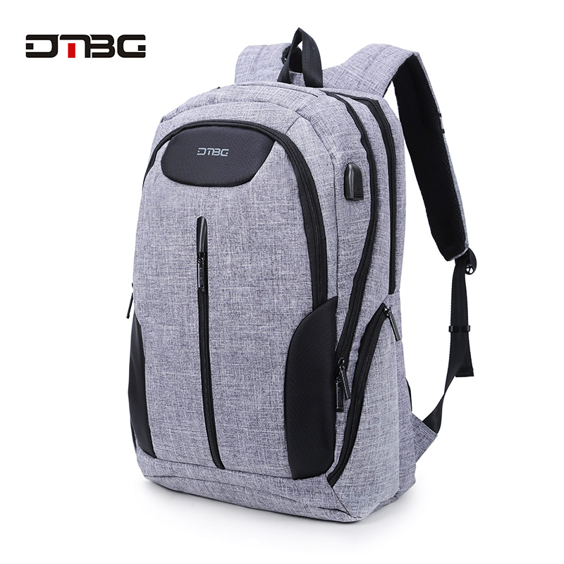 DTBG Smart USB Laptop Backpack Large Capacity School Bags For Teens Anti Theft Large Capacity Travel Mochila Sac Rugzak Plecak dtbg canvas backpack for 17 3 inch laptop smart travel rucksack with usb charging port anti theft plecak bagpack mochilas sac page 5