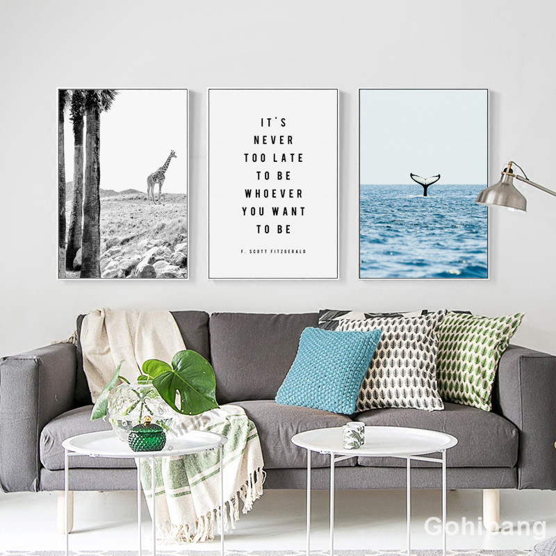 Gohipang-Nordic-Landscape-Decoration-Whale-Giraffe-Phrase-Canvas-Painting-Posters-And-Prints-Living-Room-Wall-Art (1)