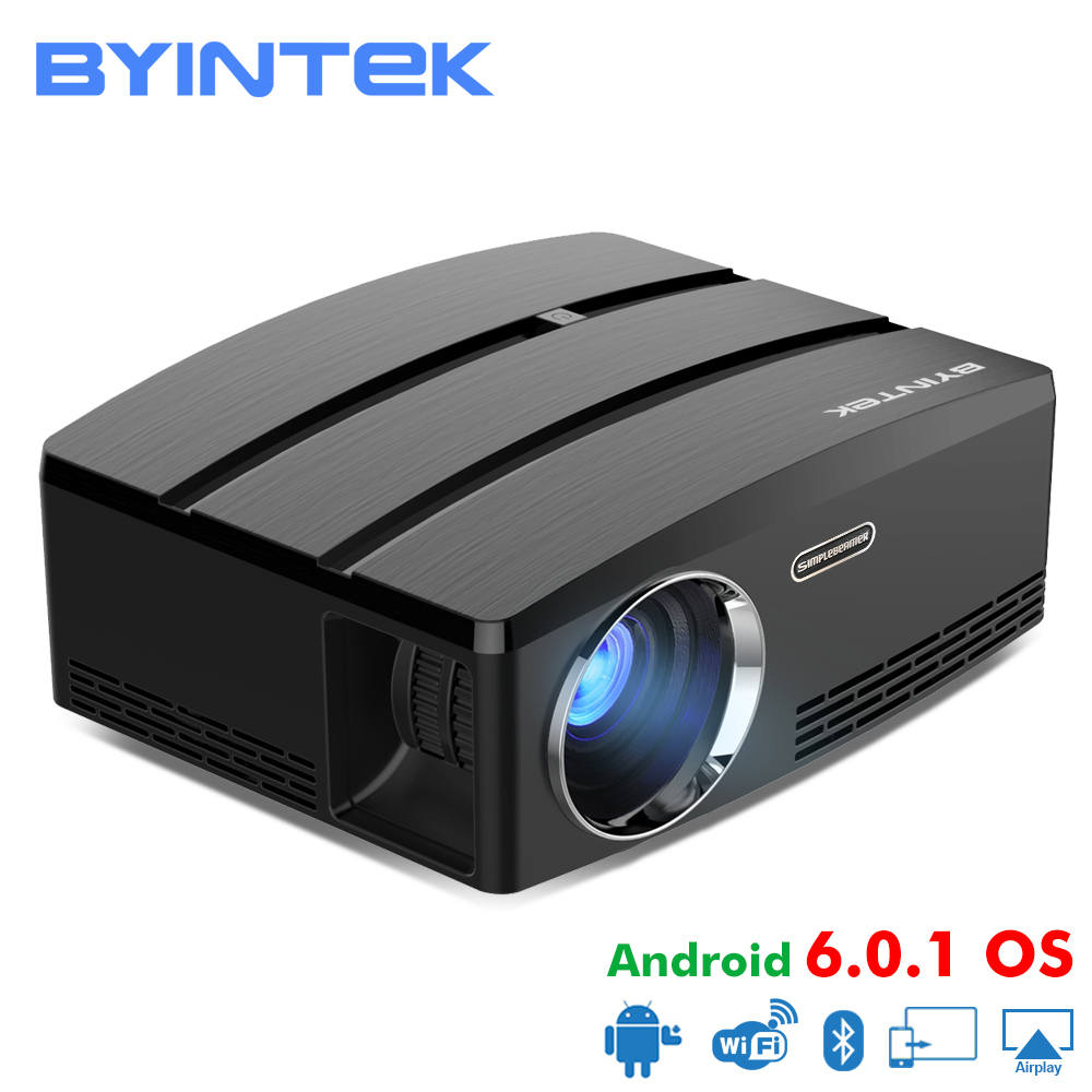 BYINTEK SKY GP80/GP80UP HD LED Mini USB HDMI Portable Projector for Home Theater 1080P Cinema (Optional Android 6.0 Version) 2016 newest portable mini hd led projector home cinema theater for pc page 3