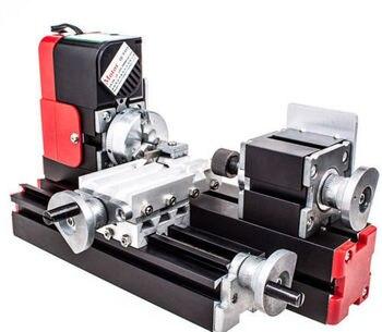 DIY Tool Big Power Mini Metal Rotating Lathe,20W 20000rev/min Motor,One Set Miniature Metal Multifunction Machine