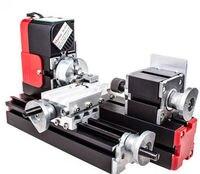 DIY Tool Big Power Mini Metal Rotating Lathe 20W 20000rev Min Motor One Set Miniature Metal