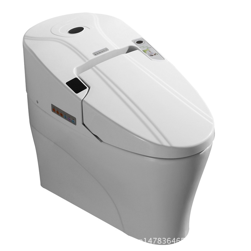 Smart Toilet Commode Fully Integrated Bidet System Bathroom Washlet Closestool Toilette Floor Mounted Toilets Bowl Heated Seat kitbwkk5000rcp750411 value kit rubbermaid autofoam touch free skin care system rcp750411 and boardwalk premium half fold toilet seat covers bwkk5000