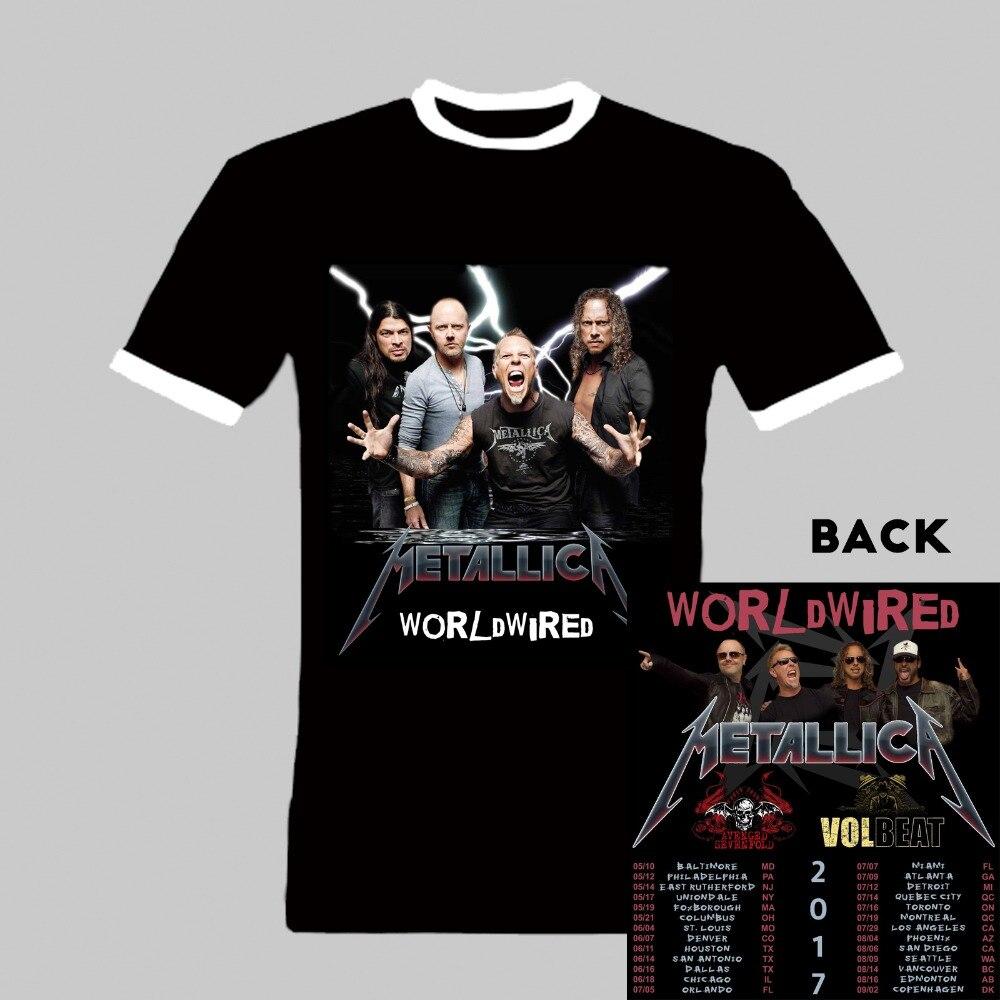 Metallica Volbeat Avenged Sevenfold Tour Shirt