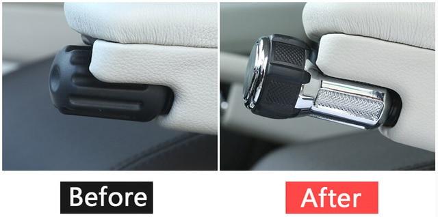 For Range Rover Vogue Sport L405 14-19 Alloy Seat Armrest Box Adjustment Konbs For Landrover Discovery 5 LR5 17-19 Car Refitting 3