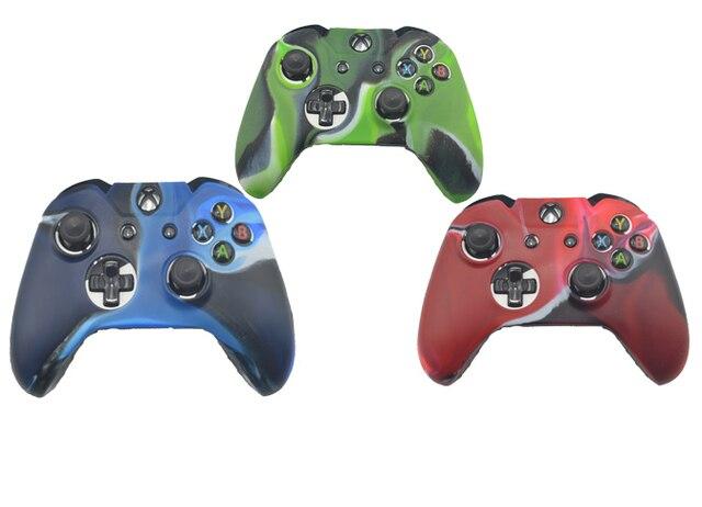 Camouflage Souple En Silicone De Protection Skin Case Pour Xbox Un Contrôleur En Caoutchouc Gel Protecteur Shell Pour Xbox One Joystick