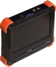 Nouveau 7 pouce TVI AHD caméra testeur CCTV testeur moniteur analogique HD TVI2.0 AHD2.0 1080 P test de l'appareil photo VGA HDMI entrée 12V2A ouput