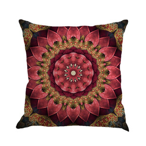Image 3 - Geometry Painting Multicolor Linen Cushion Cover 45cm*45cm Comfortable Sofa Square Throw Pillow Cover Bed Home Decoration