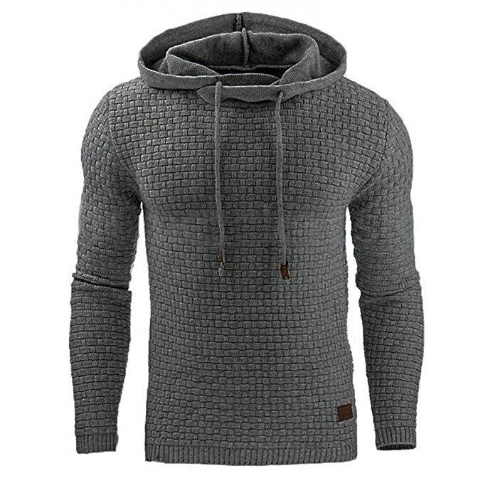 2019 New Hoodies Men Brand Male Solid Hooded Sweatshirt Mens Hoodie Tracksuit Sweat Coat Casual Sportswear M-4XL Drop Shipping