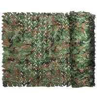 6x1,5 m Military Camping Camo Net Woodland Dschungel Camouflage Netting Jagd Schießen Angeln Sun Shelter Verstecken Netting