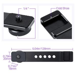 "Image 4 - מתכת מצלמה חכם טלפון יד לgopro 9 8 7 6 DJI אוסמו פעולה עבור RX0 השני VLOG כף יד ידית מייצב עם 1/4 ""בורג"