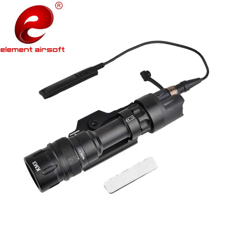 Linterna táctico Element Airsoft para caza Surefir M952V, 380 Lumen, pistola estroboscópica Surefir, arma, luz EX192
