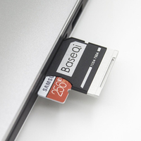 BASEQI Aluminum Micro SD Card Reader For Dell XPS 15 9550 Model 750A